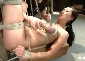 Incredible fetish sex scene with exotic pornstars Princess Donna Dolore and Tia Ling from Wiredpussy