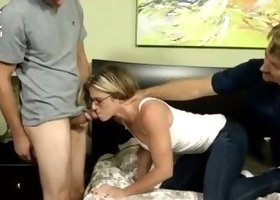 Sexy mature female Cory Chase having anal
