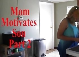 Mom Motivates Son Part 2