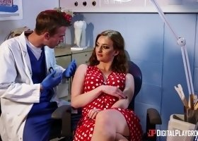 Zara Durose seduced by a dentist with a massive boner