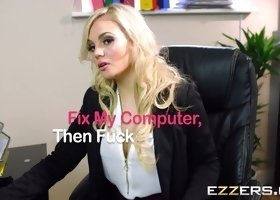 Katy Jayne In Fix My Computer Then Fuck My Pussy