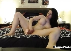 When Daddy Is Not Home Mommy Fucks Her Big Toy