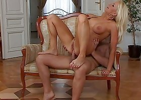 Big tittied Stacey Silver gets fucked in pussy and ass