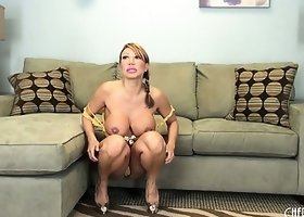Ava Devine spreads her fantastic pussy wide open with her fingers