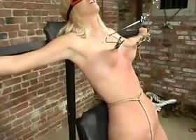 BDSM sex video featuring Heaven Lee and Heaven Leigh