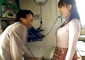 Working girl Harumi Nishimoto gets a new very horny customer