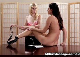 Best pornstars India Summer, Charlotte Stokely in Fabulous Massage, Lesbian adult clip