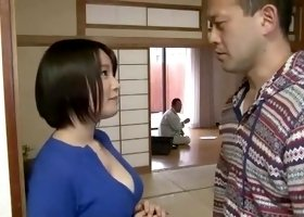 Horny Japanese slut Momoka Sakura in Incredible Big Tits JAV scene