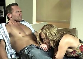 Kayden Kross Gets Banged on a Couch
